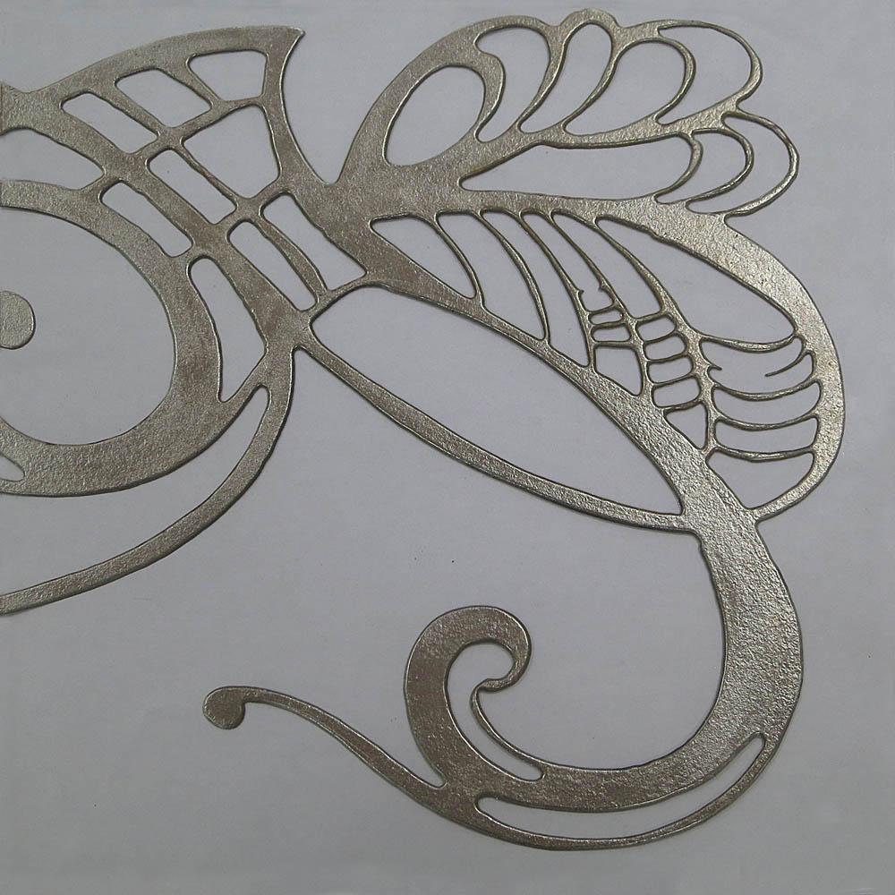 Libellule silver