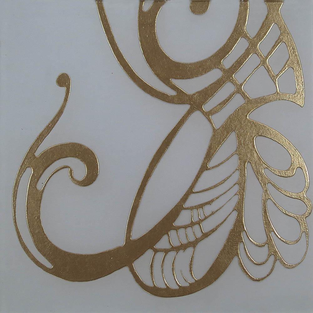 Libellule gold
