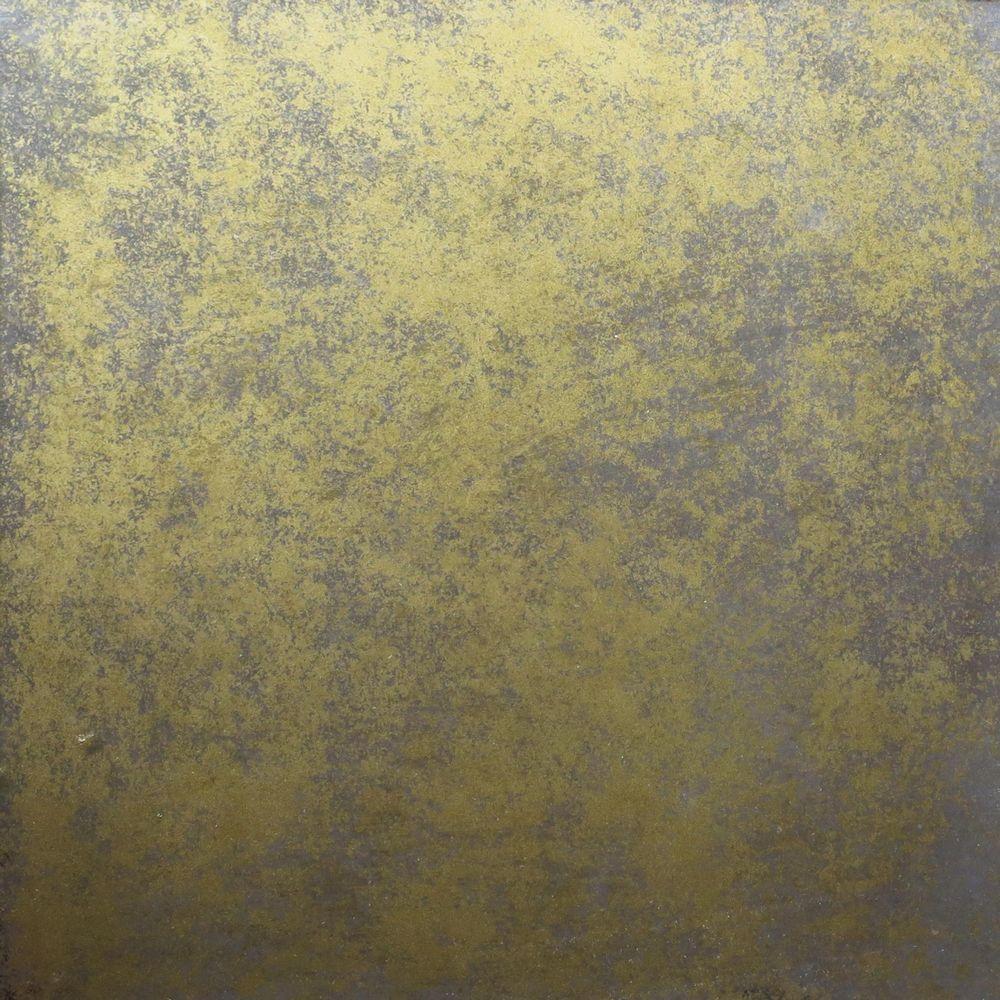 Golden antique mirror 01