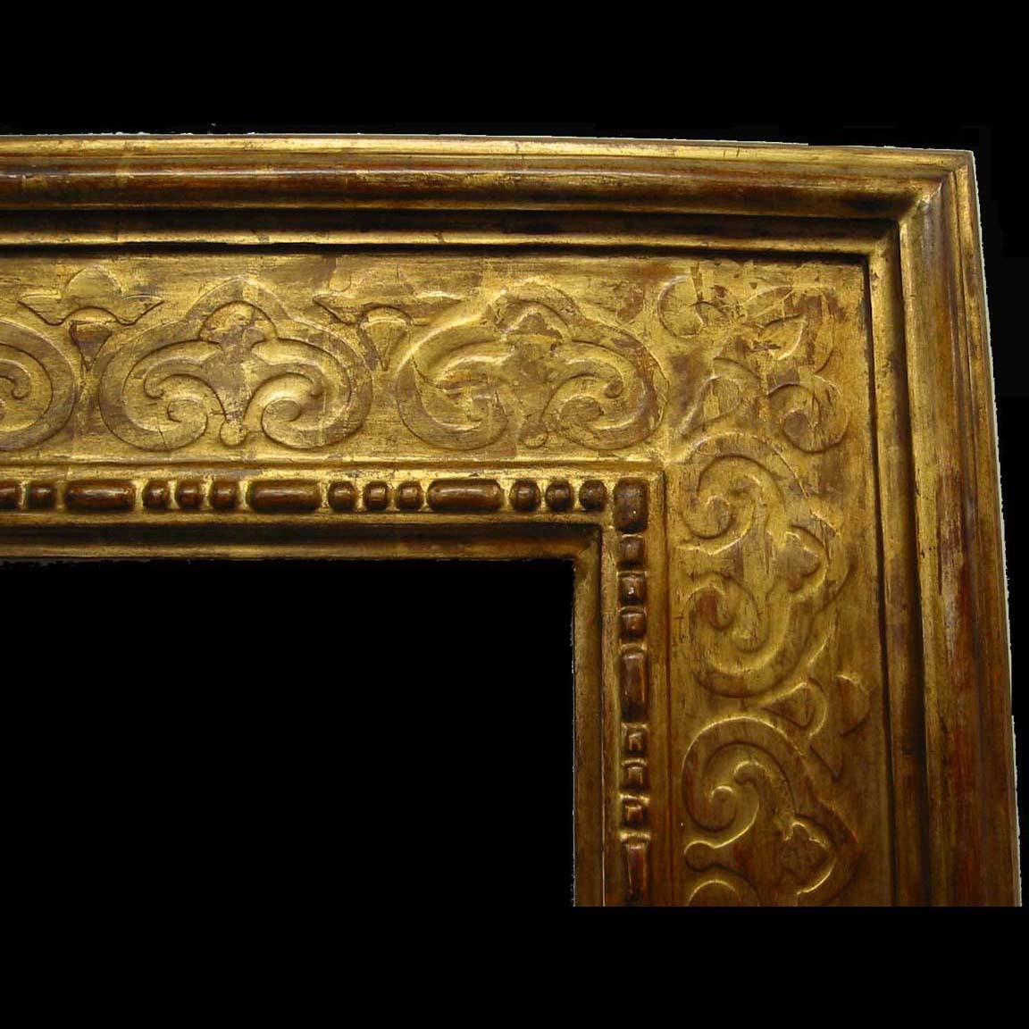 Water gilt frame