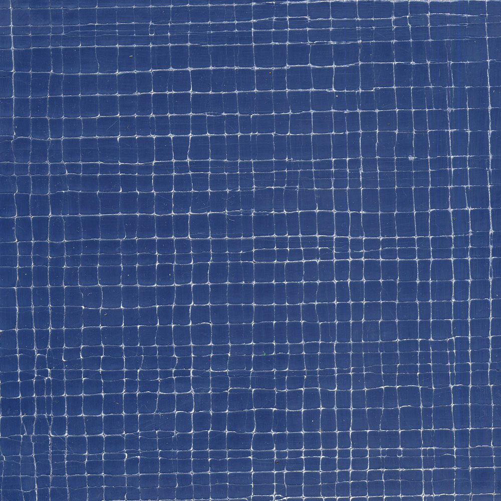 Blue Crackle Gesso