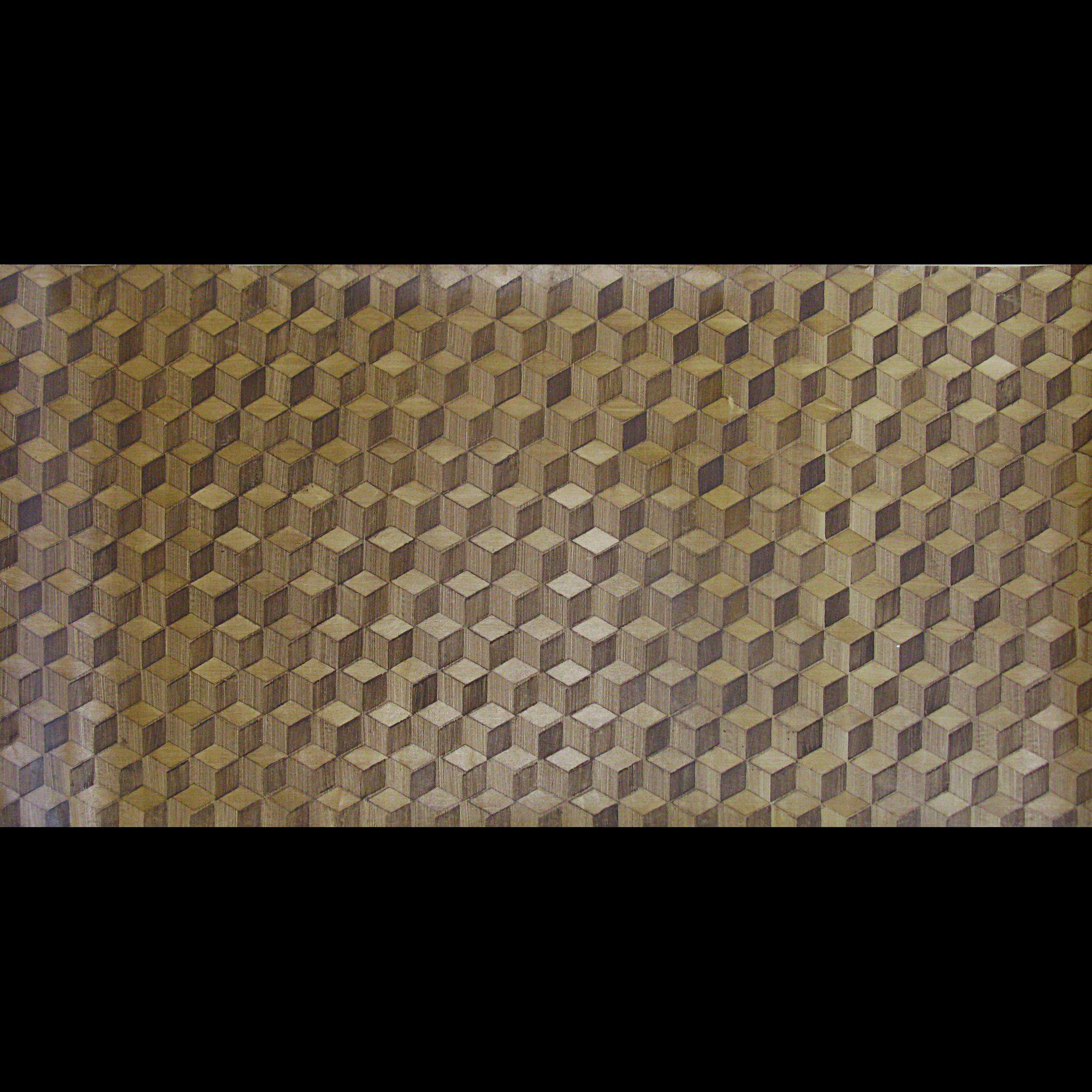 Woodgrained Wallpaper