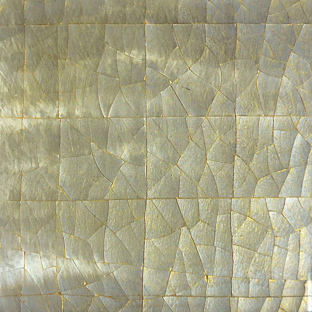 Silver and Gold Crackle Gesso