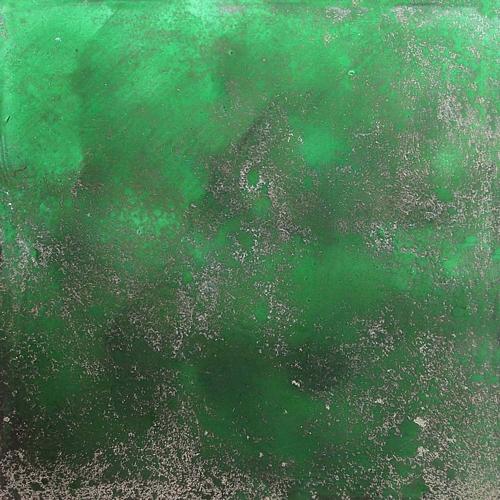 Green antique mirror 02