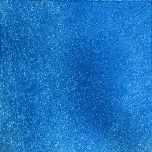 Blue crinkle