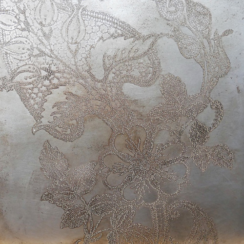 Gilt lace