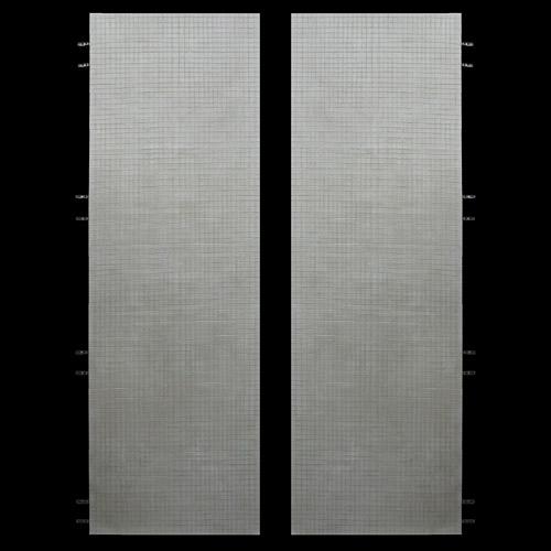 Crocodile Gesso Doors