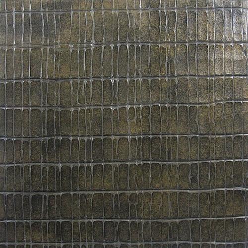 Bronze crocodile 2