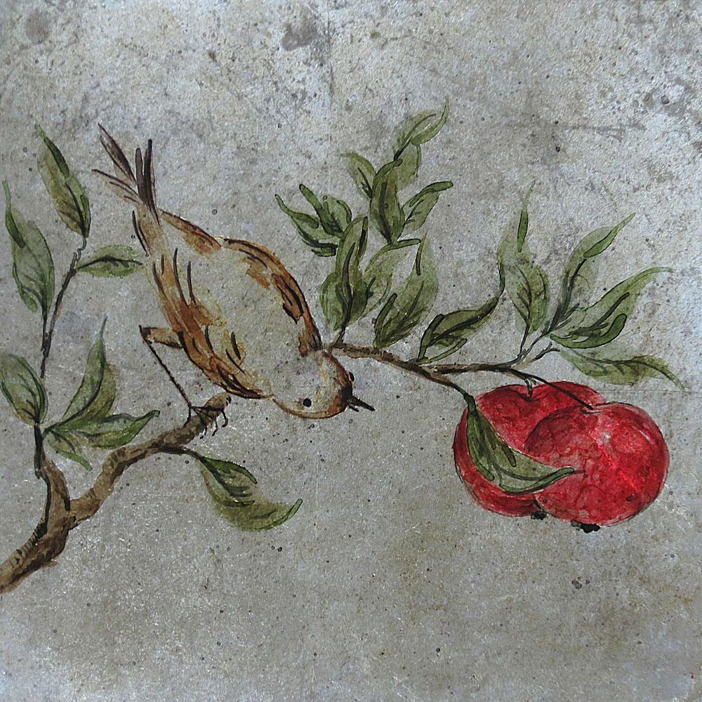Pomegranate Bird